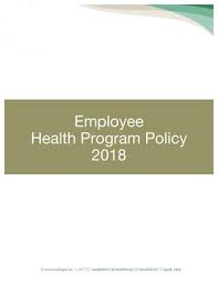 Employee Health Policy Cover Image
