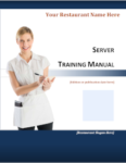 Server Training Manual cover image