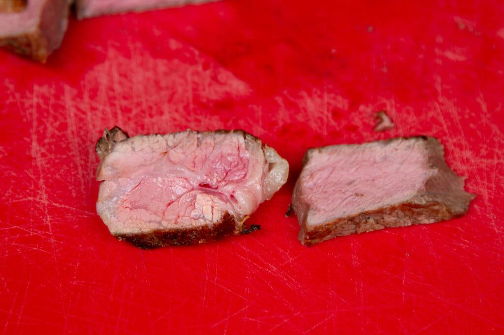 Cooked Steak Comparison