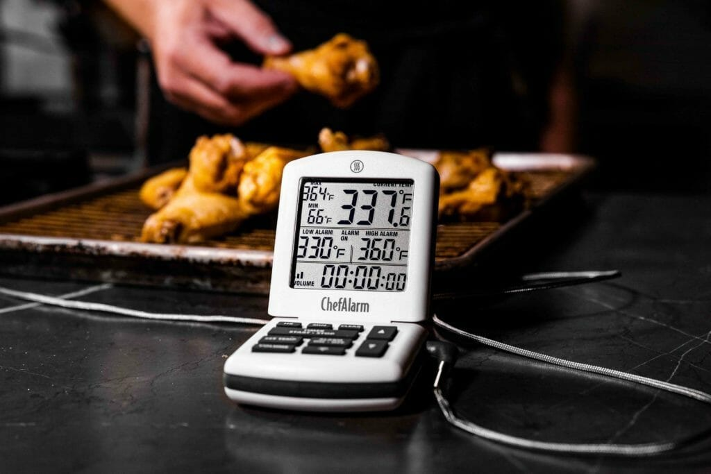 Chef Alarm and wings image